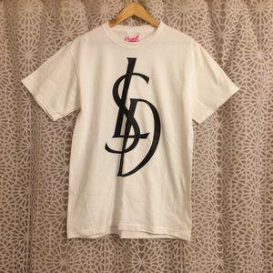 """""""LSD"""" YSL Saint Laurent Spoof T-Shirt"""